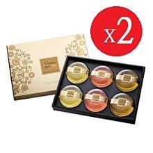 台鹽生技黃金皂禮盒~6入/盒(玫瑰*2+茉莉*2+檀香*2)*2盒