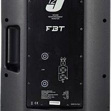 【昌明視聽】FBT J12  義大利名牌 專業級舞台喇叭12吋 300瓦 2音路設計 外場舞台 PUB 禮堂 教會
