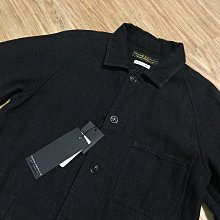保證真品日本製近全新紐約FSC FREEMANS SPORTING CLUB 棉麻材質刺子布黑色厚磅工裝外套 美式工作