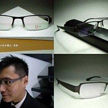 信義計劃眼鏡 岡崎健司 其之21 日本 金屬框 方框 半框 下無框 可配 transitions 全視線變色鏡片