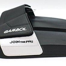 GAMBOL 男款運動休閒拖鞋  ( GM43106B 黑)