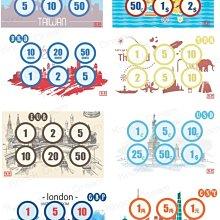 KD coin case日幣零錢包專用外幣貼紙 讓原ms one升級(47120358)