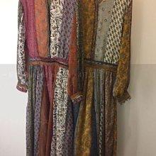 SaNDoN x『UNGRID』 獨家 熱門搶手單品 大人氣 高園女神用款高級感拼接花朵雪紡立體洋裝 180517