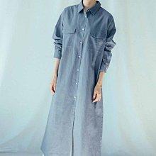 iedit 21春 天然棉麻素材 長版襯衫外套 (現貨款特價)