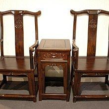 大台南冠均實木傢俱批發倉庫---自辦進口 全新仿古 雞翅木 官帽椅 公婆椅 太師椅 泡茶椅 洽談椅 1桌2椅 MG003