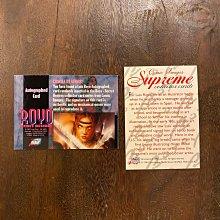 1997 Luis Royo 西班牙藝術家 親筆簽名 收藏卡 卡片 共2張