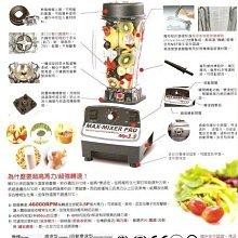 MAX-MIXER PRO 3.5匹全方位營養調理機-豆花伯生活館