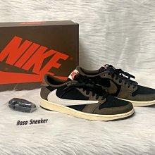 【Basa Sneaker】Travis Scott x Air Jordan 1 Low倒鉤 低筒CQ4277-001