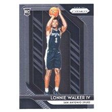倒數10張!(RC) 馬刺核心 Lonnie Walker 漲值保證Prizm Rookie Base系列新人RC金屬卡 2018-19