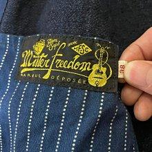 Mister freedom 藍染 人字紋 工裝外套