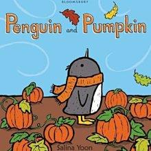 全新 現貨 Penguin and Pumpkin 萬聖節 主題 硬頁書