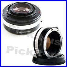 Lens Turbo減焦增光可調光圈NIKON G AI F鏡頭轉Sony NEX E卡口機身轉接環A7RM2 A7M2