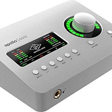 造韻樂器音響- JU-MUSIC - Universal Audio Apollo Solo Thunderbolt 3