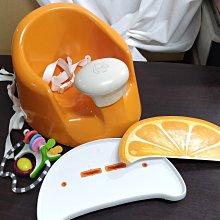 *小踢的家玩具出租*B0230 *美國bumbo~Prince Lionheart多功能嬰兒餐椅*橘子款~請先詢問