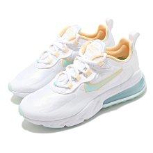 =CodE= NIKE W AIR MAX 270 REACT 網布慢跑鞋(全白綠橘) DJ3027-100 氣墊 女
