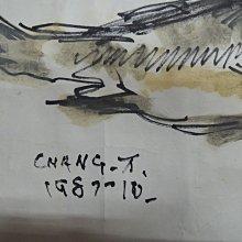 【練家字畫估價--收購于右任手稿】張萬傳,魚,設色水墨畫作品