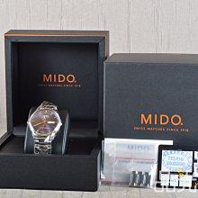 【品光數位】MIDO M0214311104100 天文台認證 錶徑40mm 機械錶 #104847T