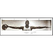 油畫NBA球星科比喬丹詹姆斯相框海報籃球裝飾畫男孩臥室床頭掛畫壁畫