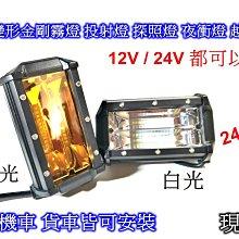 [[瘋馬車舖]]12V 24V 72W變形金剛全鋁合金爆亮led霧燈 探照燈 大燈 頭燈 ~ 24V貨車 卡車都可以裝