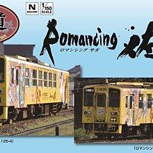 TOMYTEC N 1/150 JR KIHA 125 Romancing Saga 佐賀 彩繪車輛組 (61773)