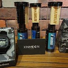 ☾- XinmOOn CASIO 卡西歐 G-SHOCK  x F.C.R.B. DW-5600 聯名 世足 迷彩 黑藍