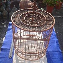 藍色小館39------------早期手作鳥籠{有傷}