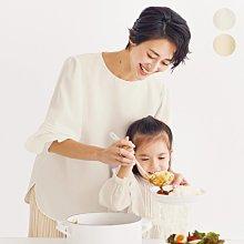 日本 21春 不易弄髒的白色 異素材拼接鬆緊袖口 防潑水加工 抗皺上衣 (現貨款特價)