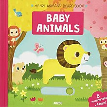全新 硬頁操作書 Baby Animals My First Animated Board Book