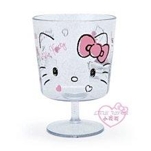 ♥小花花日本精品♥HelloKitty布丁狗大臉造型高腳蛋糕杯甜點杯飲料杯甜點裝飾杯~3
