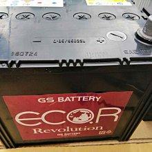 極地電池GS汽車電池統力Q85-95D23L規格75AH 520CCA,實際量測CCA為567保固一年