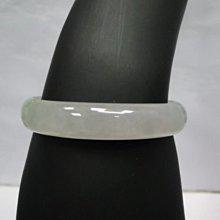 (板信當舖流當品) 冰種 A貨 天然翡翠 玉手環 附中國寶石證書 喜歡價可議PH010