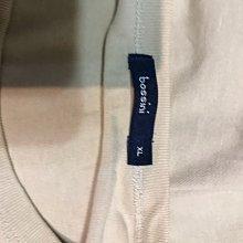 bossing XL 米黃色T恤 短袖 新的無吊牌