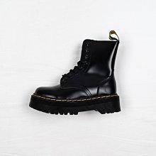 Dr. Martens 1460 8孔 黑色 硬皮 內側拉鏈 厚底 短筒 經典款 馬汀靴 女鞋