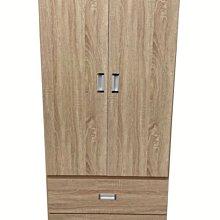 【樂居二手家具】台中全新中古傢俱家電最便宜NH19BD*全新單人衣櫃*臥室家具 拉門衣櫃 雙人衣櫃 單人衣櫃 櫥櫃 收納