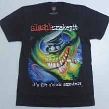 【Mr.17】Slashs Snakepit 槍與玫瑰吉他手 蛇 搖滾進口短袖T恤T-SHIRT(H865)