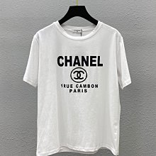 Chanel 香奈兒 簡約百搭 四季都會穿撘到的 品牌經典精神 T恤