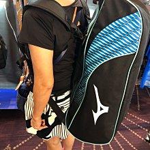 (羽球世家)美津濃 Mizuno 羽球袋 73TD051121 12支裝 6支 球裝 裝備袋 羽球雙肩背袋2色 有置鞋袋