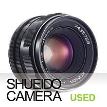 集英堂写真機【3個月保固】中古良品 / KONICA HEXANON AR 52mm F1.8 鏡頭 17514