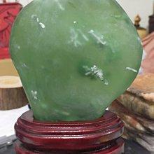 臻品水晶~火山琉璃-綠曜石原礦