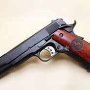 [01] BELL M1911 V12 全金屬 瓦斯槍 木柄 (BB槍玩具槍模型槍柯特科特451911 COLT MEU