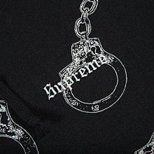 【超搶手】全新正品 2017 現貨 Supreme Handcuffs Hooded 滿版手銬連身帽T M L XL