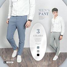 下殺749。SW。【K32136】正韓KE韓國製 修身顯瘦 質感琥珀扣 彈性萊卡西裝布 窄版雅痞 藍灰黑 西裝褲 下標區