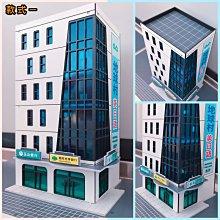 新品發售🔥N規 1:150比例 商業大樓 玉山、國泰世華、郵局 辦公大樓 現貨