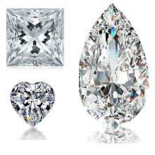 一克拉圓形異形莫桑鑽莫桑石摩星鑽超白D色裸石6.5mm保證過測鑽筆銀樓當舖都以為是真鑽莫桑鑽寶超低價出清