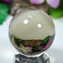 孟宸水晶 = A9018  (100%天然超清透茶水晶球103克)