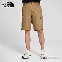 -滿3000免運-[雙和專賣店] THE NORTH FACE 男 戶外休閒風格短褲/4U97/棕褐色