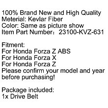 《極限超快感》Honda Honda Forza Z ABS Forza X Forza Z 傳動皮帶