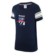 *昕衣屋*轉賣Reebok RTI 女生短袖藍色上衣- FS8845-S號