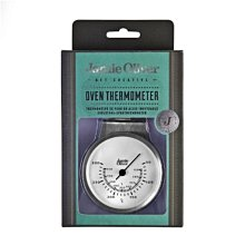【英國 Jamie Oliver 傑米奧利佛】Tiffany藍 304 不鏽鋼 烤箱溫度計 指針式溫度計