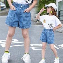 小圖藤童裝~~~中大童~~~女童夏季短裤2021新款中大童前口袋褲子(A2638)